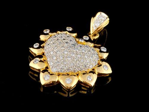 Coração com Diamantes - Ref. 142002