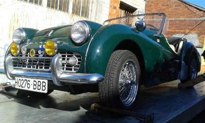 Triumph TR3A roadster
