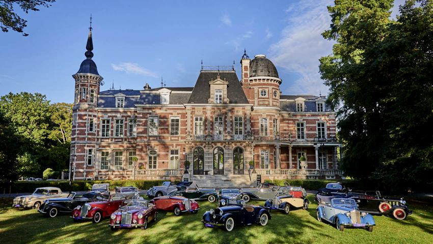 Coleção de 17 Mercedes clássicos em leilão
