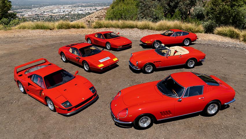 20 magníficos Ferraris vão a leilão