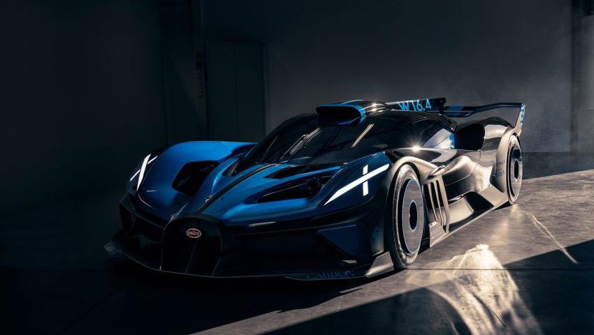 Bugatti Bolide o poder de 1.850 cv