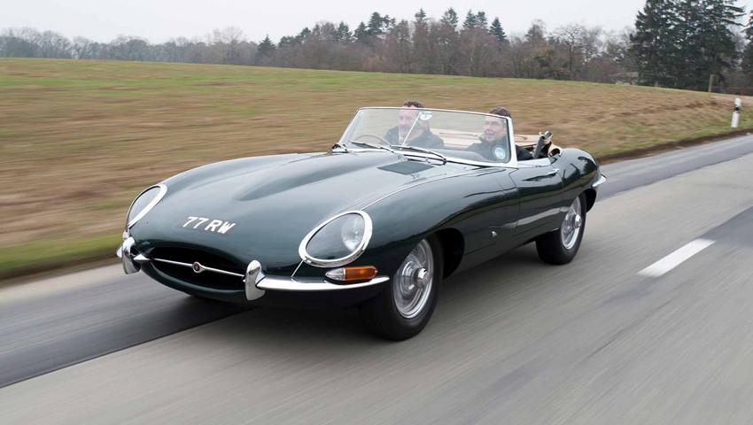 Jaguar comemora 60 anos do E-Type em 2021