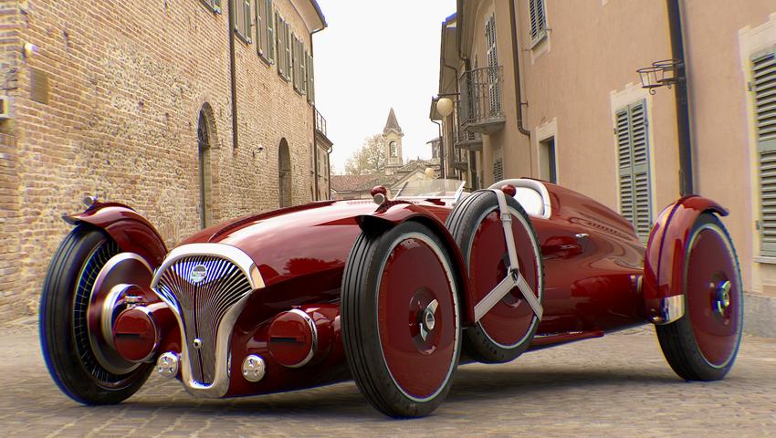 O Helvezzia Tipo-6 o electrico inspirado nos anos 40