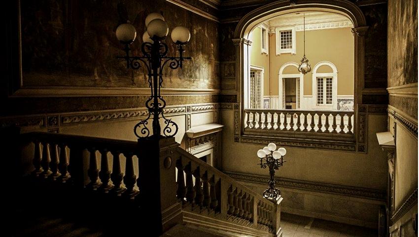 Hotel de luxo no Palácio Mendia-